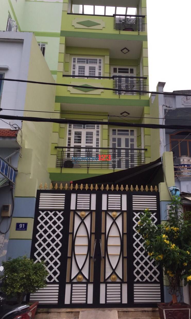 Cho thuê phòng trọ tại Tân Phú, phòng mới đẹp như hình. Phù hợp cho gia đình nhỏ và cả công nhân viên