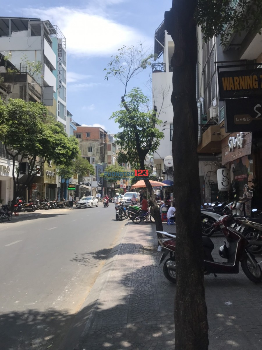Cho thuê MB Tầng 1 và 3 nhà mặt tiền 35 Lê Thị Riêng P Bến Thành Q1 giá từ 10tr/th
