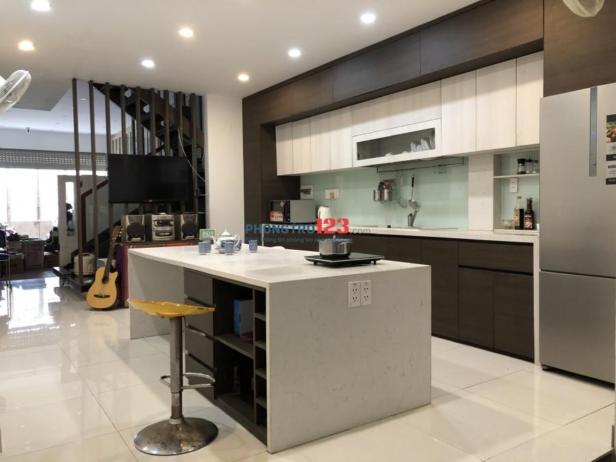 Cho thuê nhà có sẵn nội thất ở 551/34/11 Lê Văn Khương P Hiệp Thành Q12 giá 10tr/th