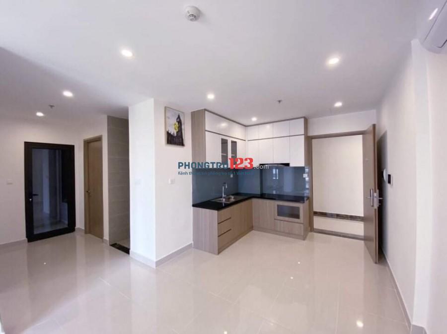 Vinhome Grand park Cho Thuê Căn hộ 2 Phòng Ngủ full bếp rèm