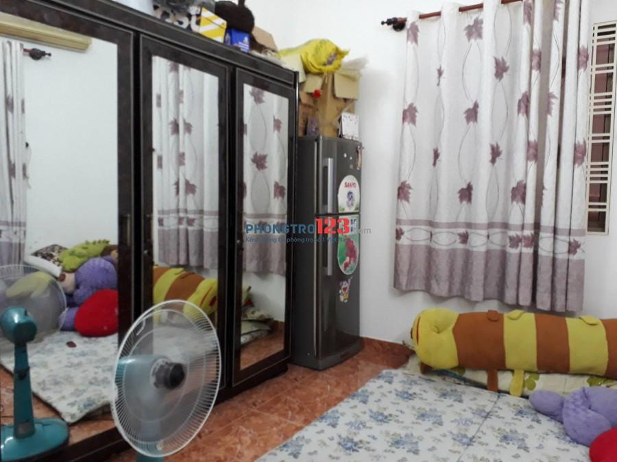Cho NỮ thuê phòng trung tâm quận Bình Thạnh