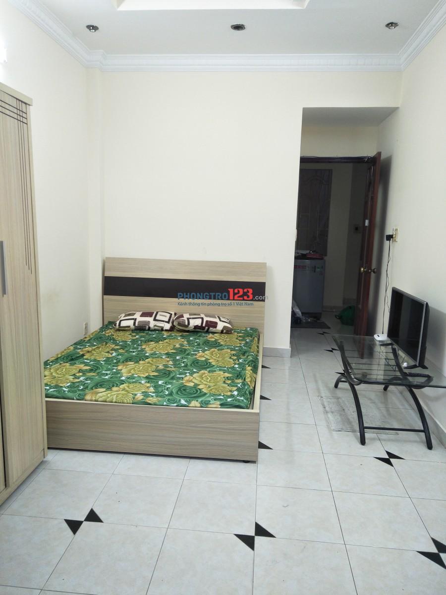 Phòng Cộng Hòa Tân Bình, 25m2 , 4,5tr full nội thất