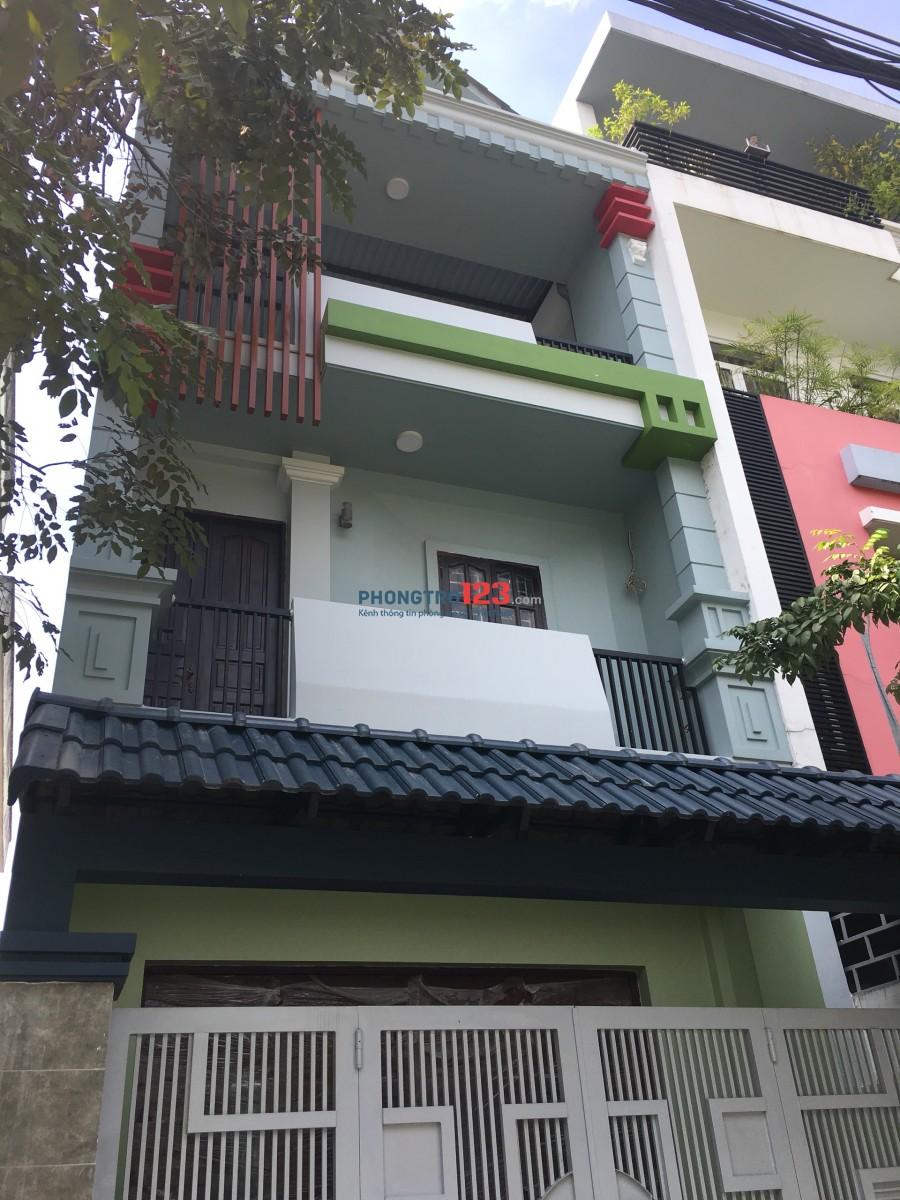 Cho thuê nhà nguyên căn Khu dân cư Bình Tân