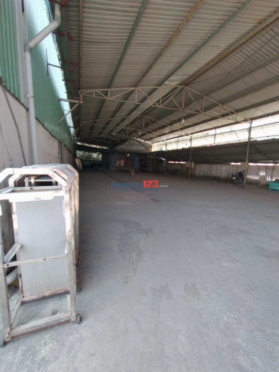 Chính chủ cho thuê kho xưởng 1000m2 mặt tiền Đường Số 9 P Long Trường Q9