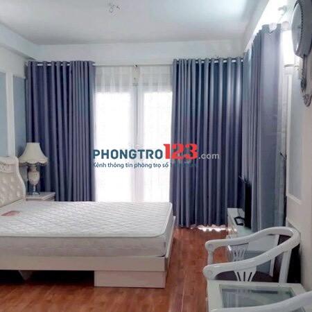 Cho thuê phòng đầy đủ nội thất nhà Mặt tiền 220 Trần Hưng Đạo Q1 giá từ 5tr/th