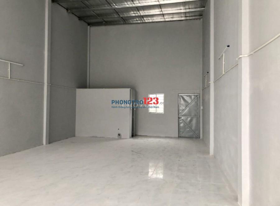 Chính chủ cho thuê nhà Xưởng mới xây tại Hẻm 354 QL1A P BHH B BTân giá 11tr/th