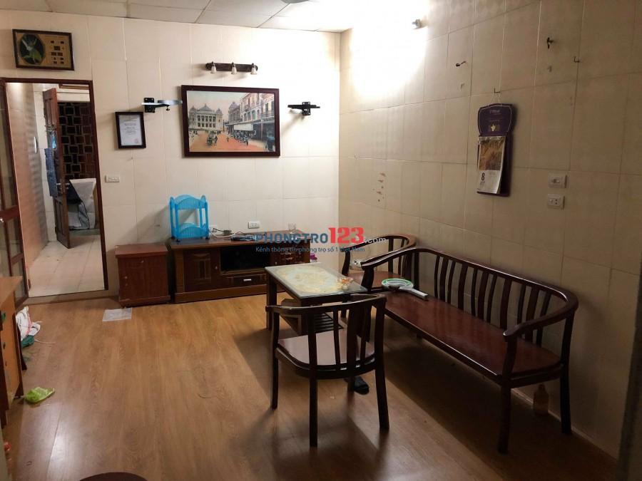 Cho thuê căn hộ tập thể 2PN - 60m2 - Full Đồ 4,5TR