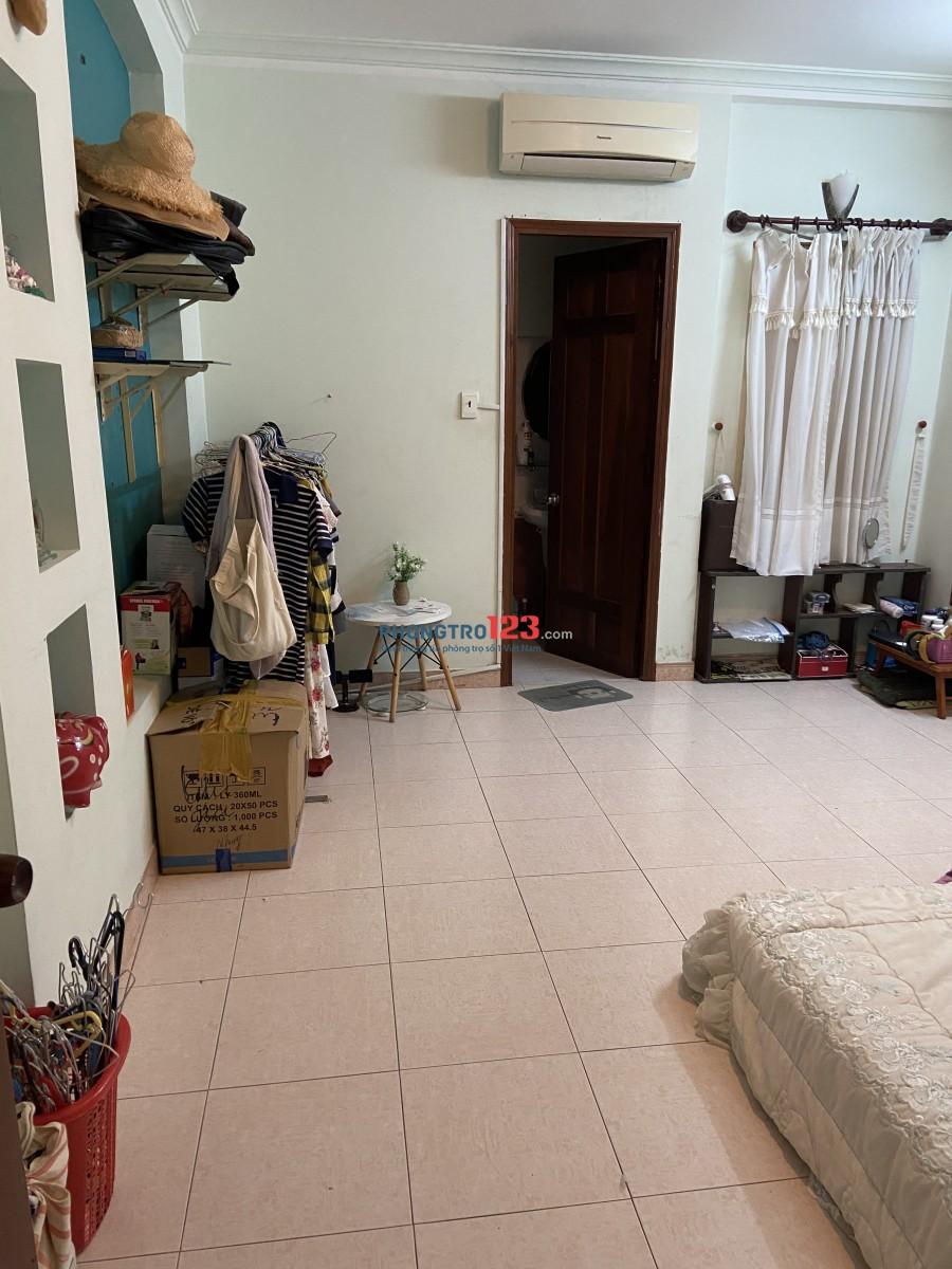 Cho thuê phòng trọ tại Phú Nhuận có máy lạnh