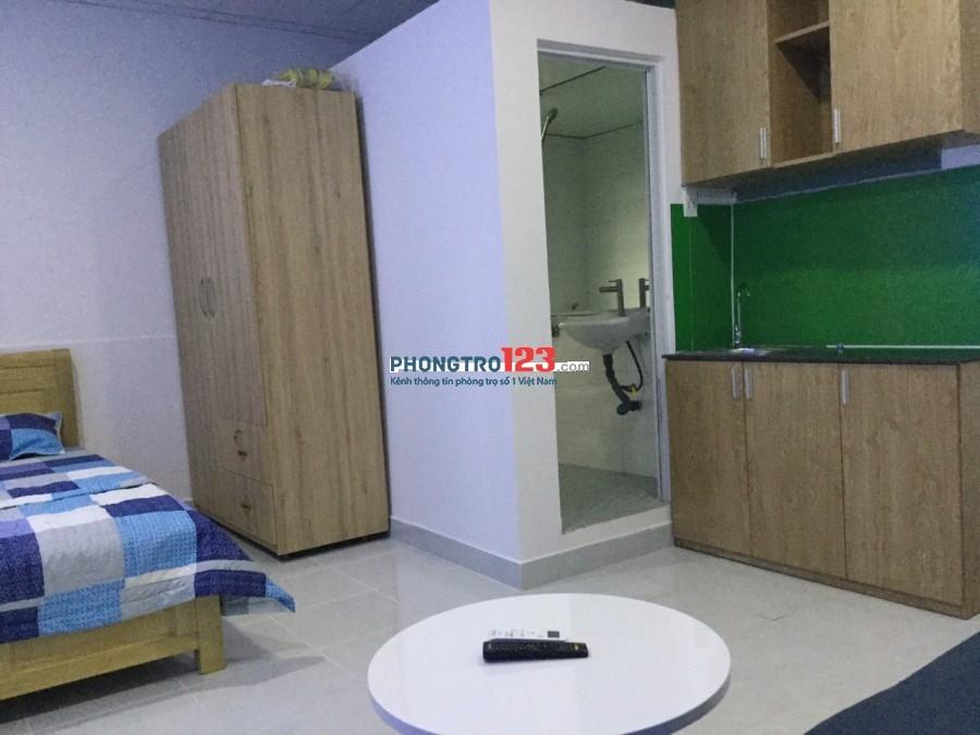Phòng ban công 20m2, có nội thất Nguyễn Thiện Thuật, Bình Thạnh giá 3,9tr/tháng