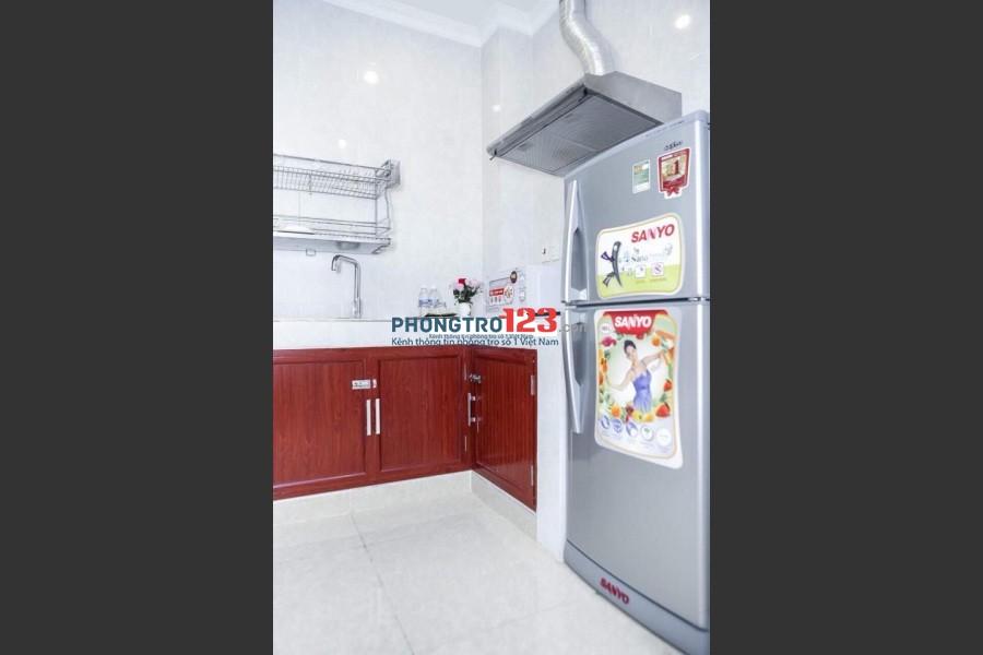 Phòng 35m2, 2PN+2WC riêng full NT, Thag máy MT Võ Văn Kiệt, Q.5 Giá 6tr