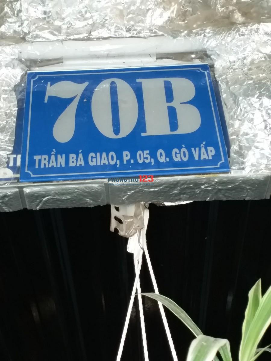 Phòng đủ tiện nghi Trần Bá Giao giá chỉ 2tr5