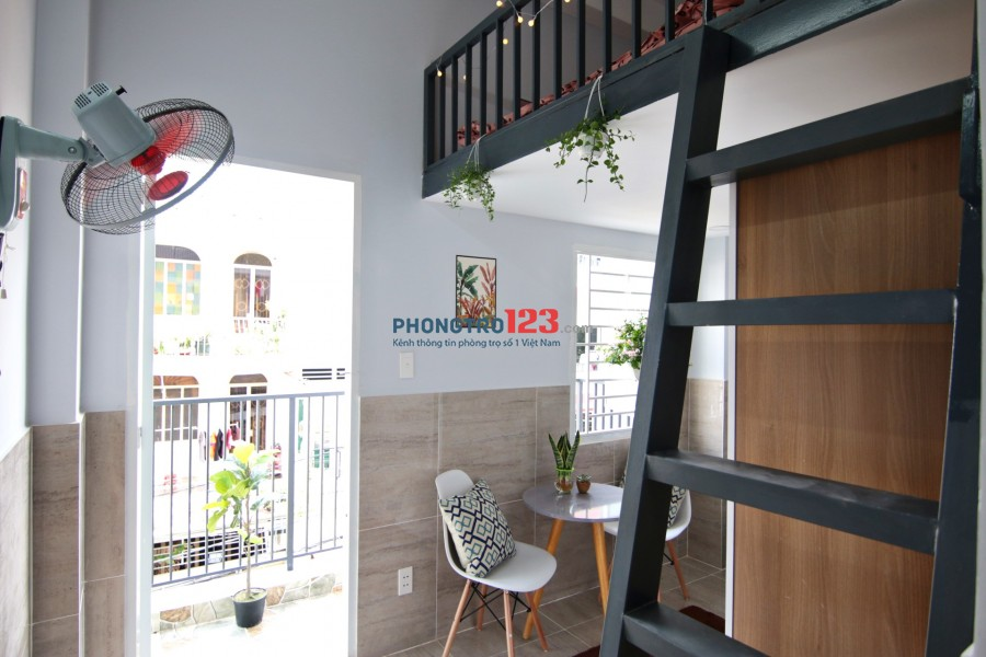Căn hộ STUDIO mới FULL nội thất cao cấp - trung tâm Quận Bình Thạnh