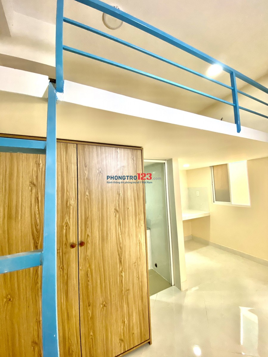 Phòng Mới 35m2, Nội thất CB, Ung Văn Khiêm gần Hutech, Bình Thạnh