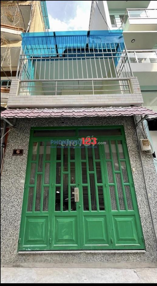 Chính chủ Cho thuê nhà NC 1 trệt 1 lầu tại Nguyễn Cảnh Chân P Nguyễn Cư Trinh Q1