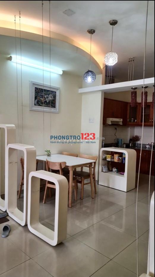 Cho thuê căn hộ chung cư 75m² 2PN Sacomreal 584 tại Lũy Bán Bích Q Tân Phú giá 8,5tr/th