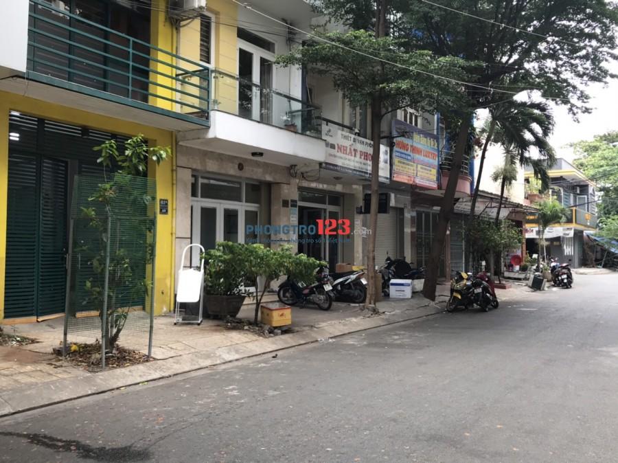 Cho thuê Mặt bằng 1 trệt 1 lầu mặt tiền đường Bàu Cát 9 P14 Q Tân Bình