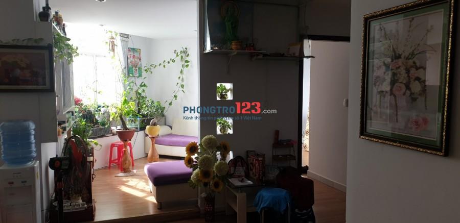 Cho thuê căn hộ chung cư 70m2 ngay tại mặt tiền đường Phạm Hùng