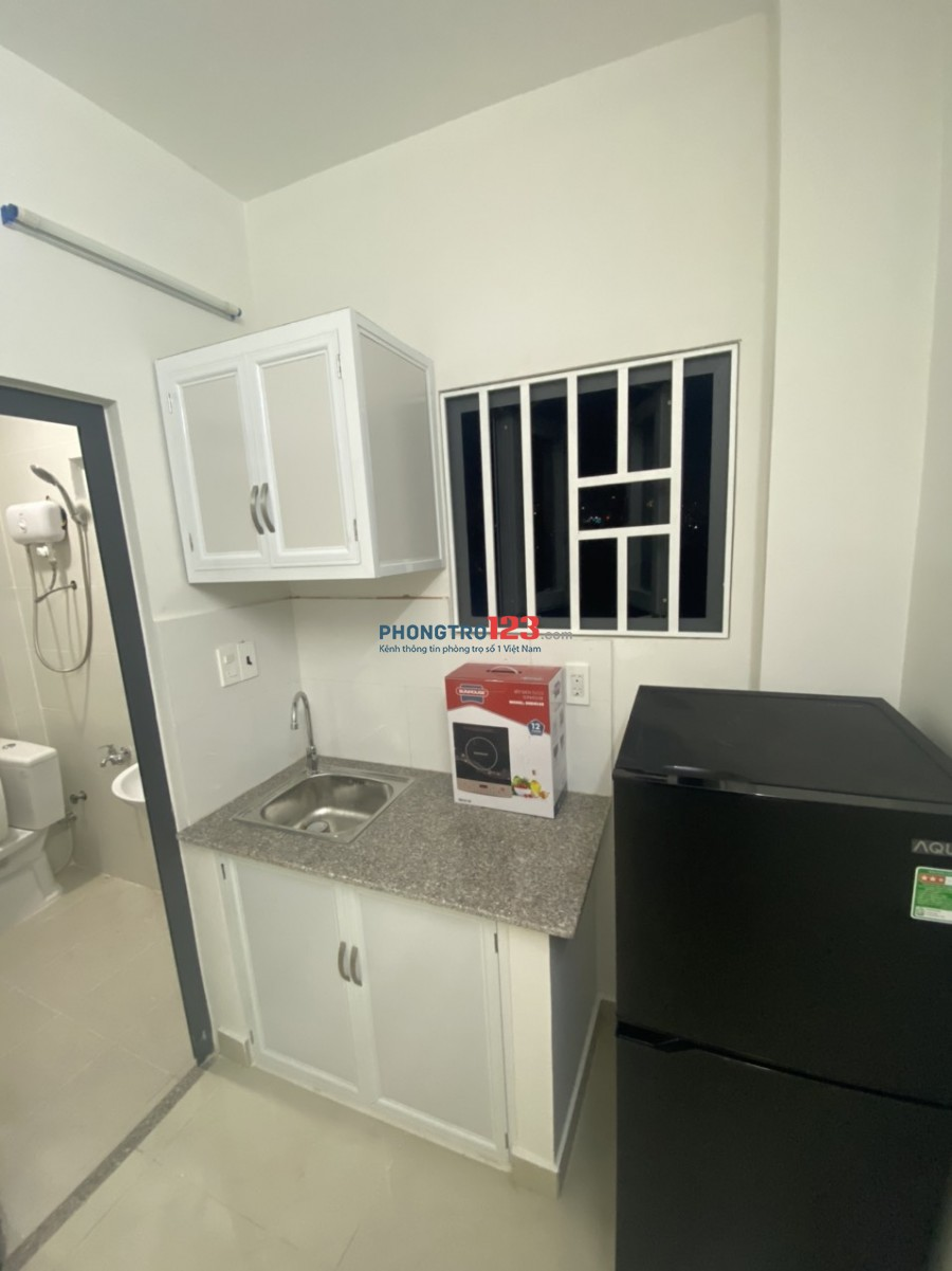 Căn hộ đầy đủ nội thất mới xây sát lotte quận 7