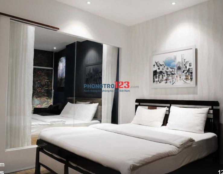 Cho thuê căn hộ mini 2 giường ngủ trung tâm sài gòn