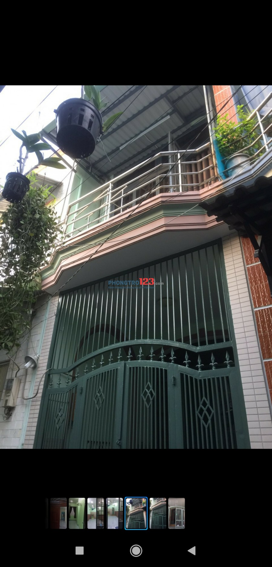 Nhà cho thuê hẻm đường Bạch Đằng
