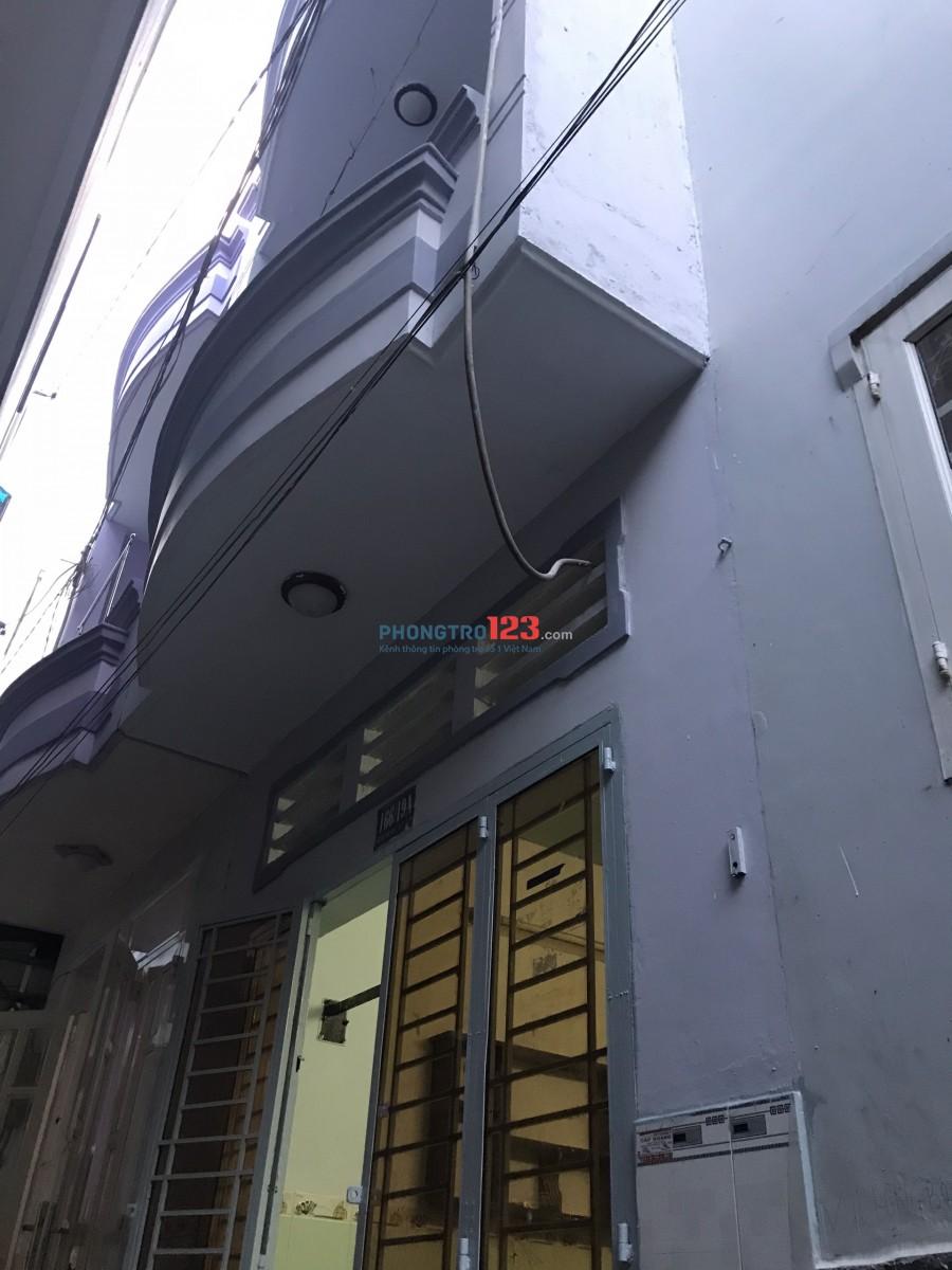 Nhà nguyên căn điện nước riêng phường 15 quận Tân Bình