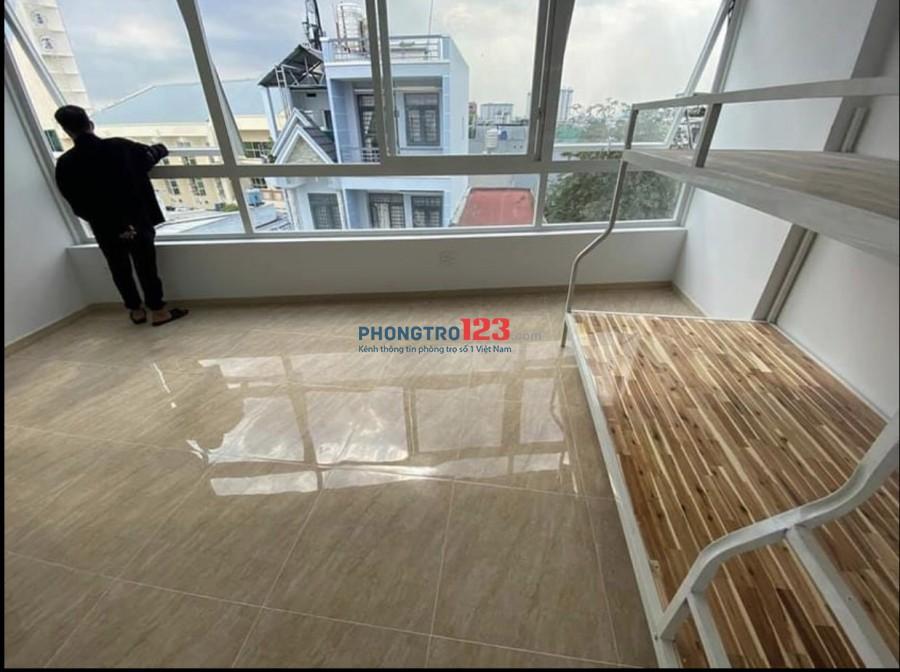 Nhà trọ mới xây đường Lê Đức Thọ, giáp Phạm Văn Chiêu Gò Vấp (Vân tay,Camera)