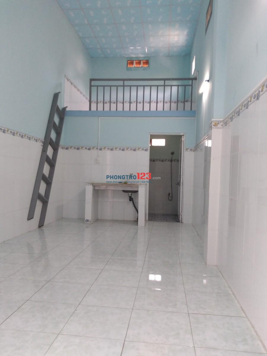 Cho thuê nhà diện tích 30m2; nhà mới xây sạch đẹp, thoáng mát, yên tĩnh, hẽm 178