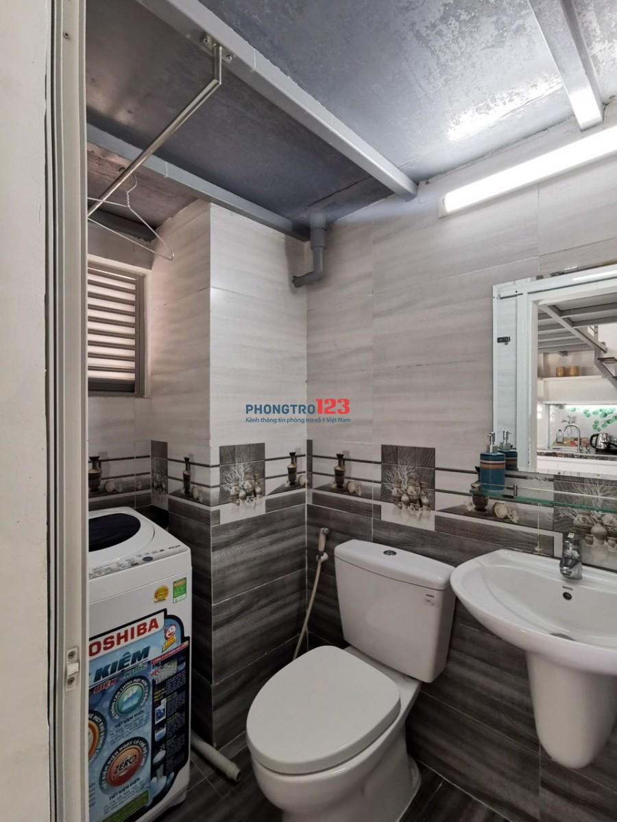 Phòng trọ cao cấp đầy đủ nội thất, máy giặt riêng gần Đại học Tài Chính - Marketing quận 7