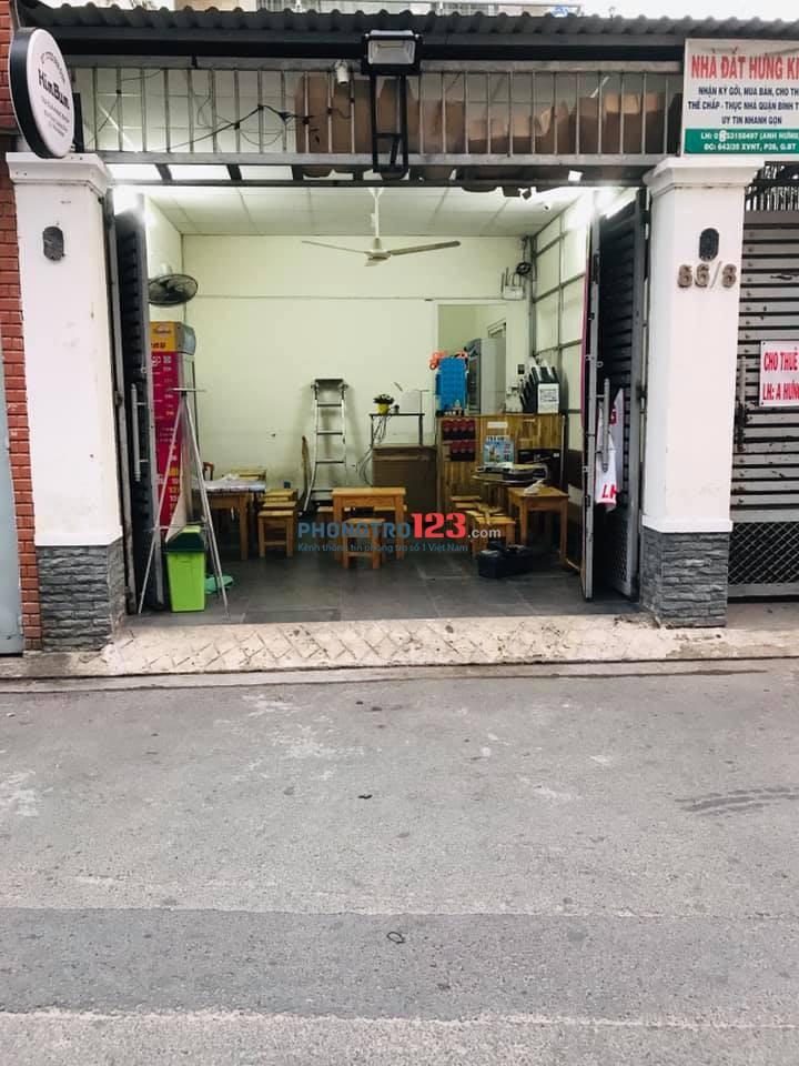Cho thuê mặt bằng tại 86/8 Thich Quảng Đức, P5, Q Phú Nhuận