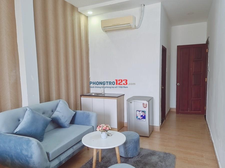 Còn 1 phòng duy nhất đầy đủ tiện nghi như căn hộ mini Dương Bá Trạc chính chủ cho thuê giá siêu rẻ