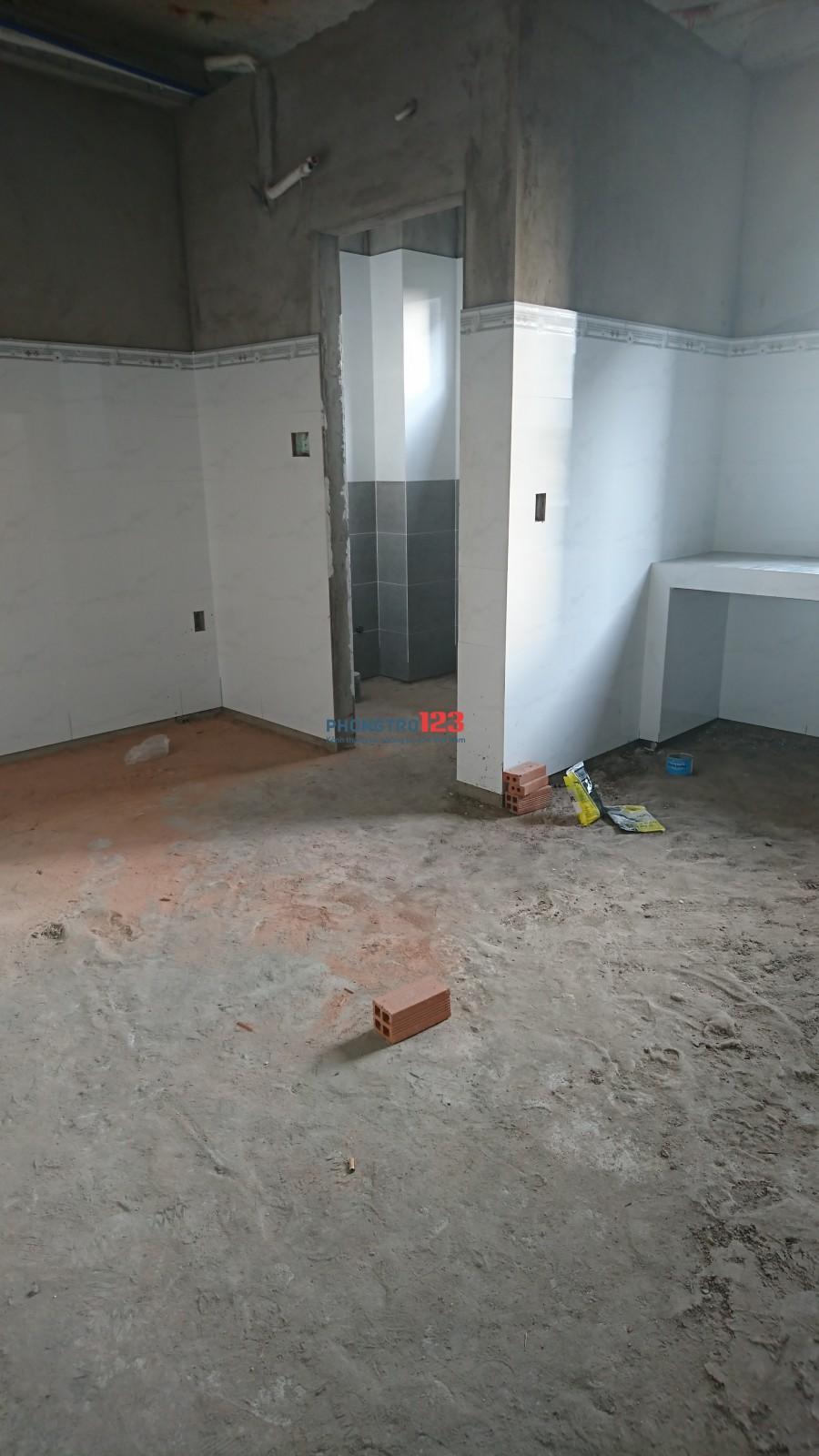Nhà trọ đang xây, tháng 5 hoạt động ạ,