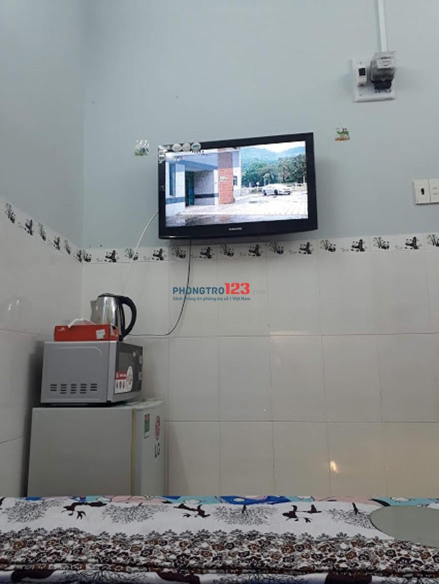 Cần cho thuê phòng máy lạnh Quận 4- 16m2. cửa sổ thoáng mát cho sinh viên và NVVP Thuê