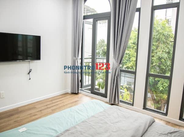 Quận Bình Thạnh,cho thuê phòng cao cấp, đầy đủ tiện nghi, phong cách hiện đại, villa thu nhỏ...