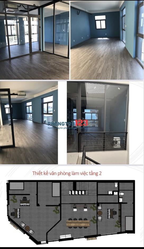 Cho thuê MB tầng 2 mặt tiền 57 Lương Minh Nguyệt P Tân Thới Hòa Tân Phú giá từ 7tr/th