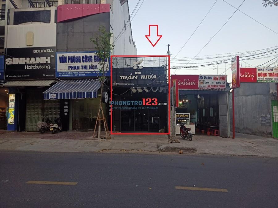 Cho thuê cửa hàng kinh doanh, văn phòng công ty nhỏ diện tích 100m2 đường Lê Hồng Phong