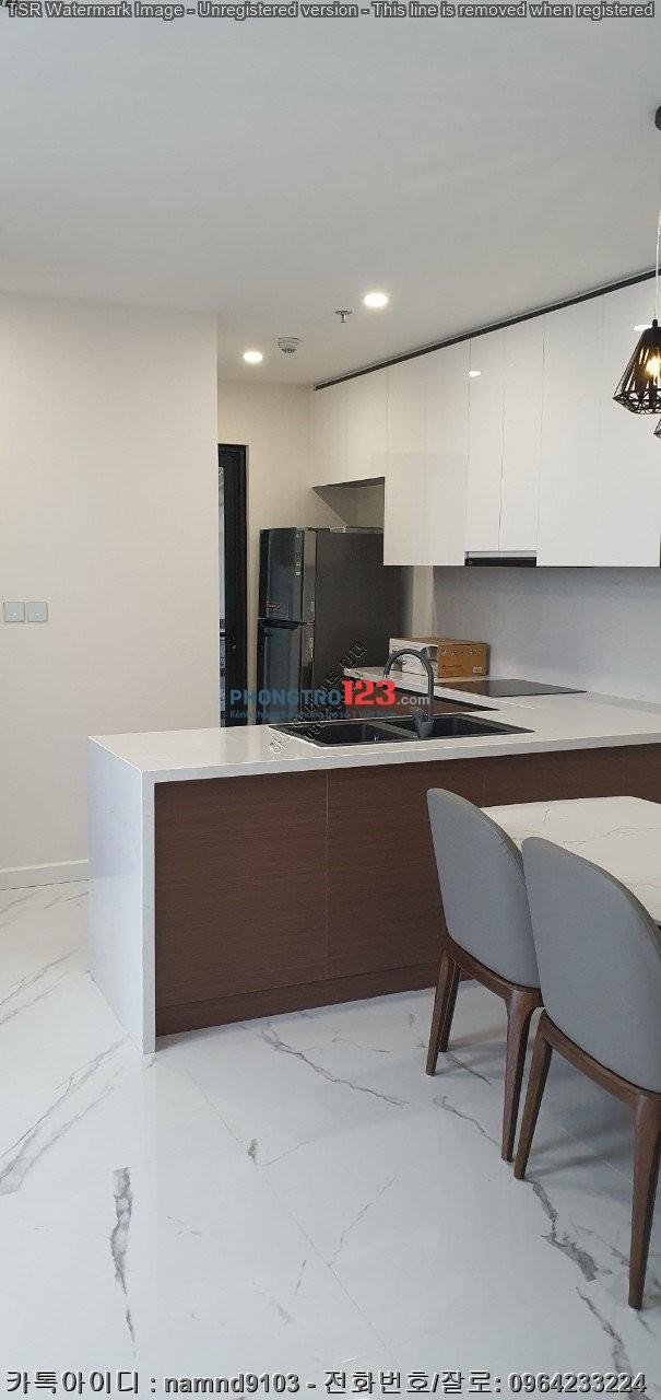Thuê 1 năm tặng 2 tháng căn 2NF,86m2 giá cho thuê 15 triệu ở chung cư Sunshine City,