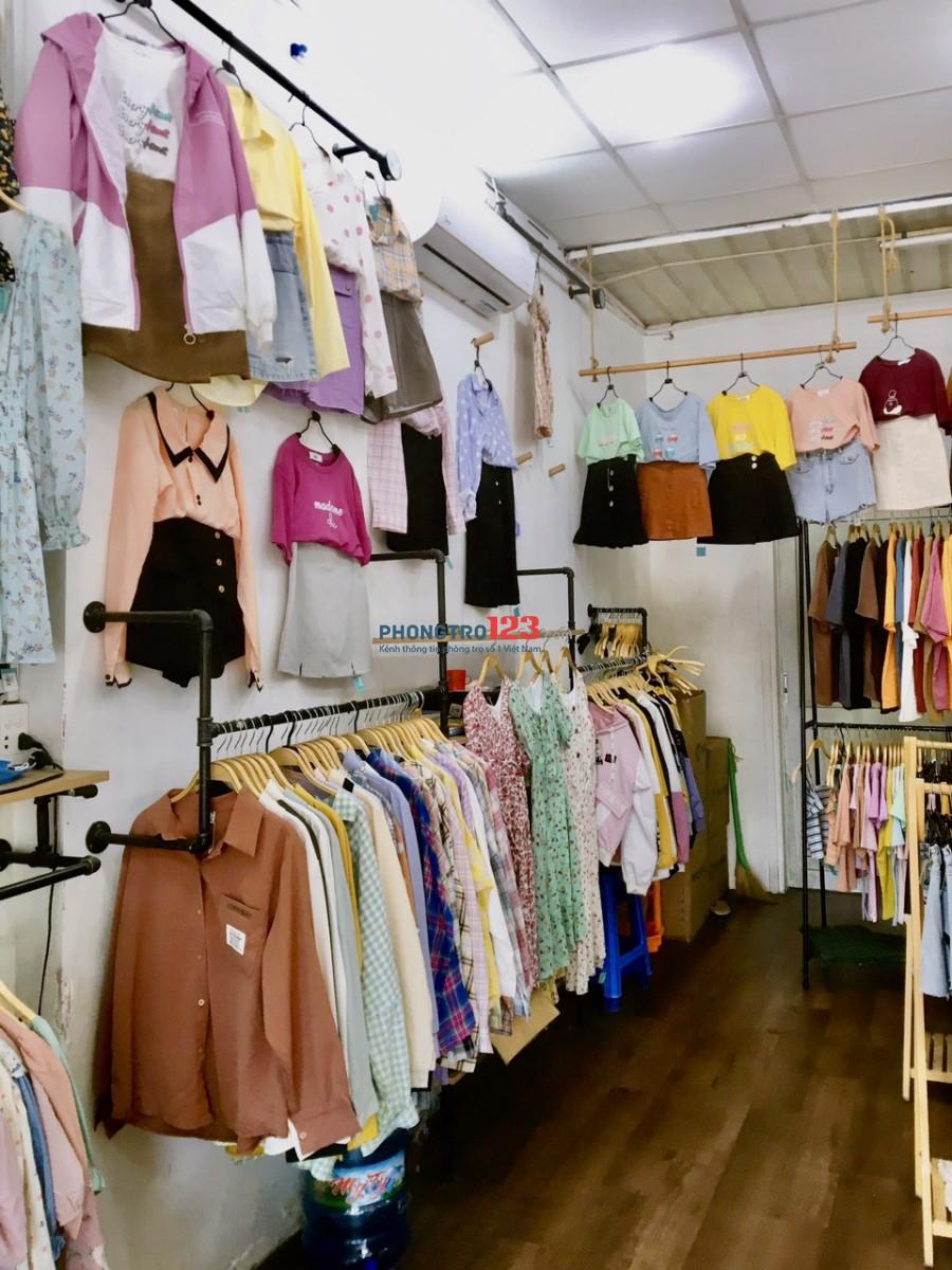 Chính chủ Sang shop quần áo Nữ sát chợ Mặt tiền Tỉnh Lộ 10 P Bình Trị Đông Q BTân