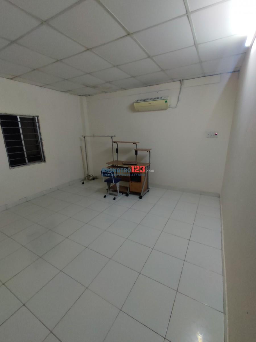 Phòng trọ cho thuê sạch sẽ,thoáng mát,có máy lạnh,gần nhiều trung tâm thương mại,khu an ninh cao