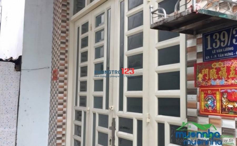 Chính chủ cho thuê nhà nguyên căn khu vực Lotte Mart