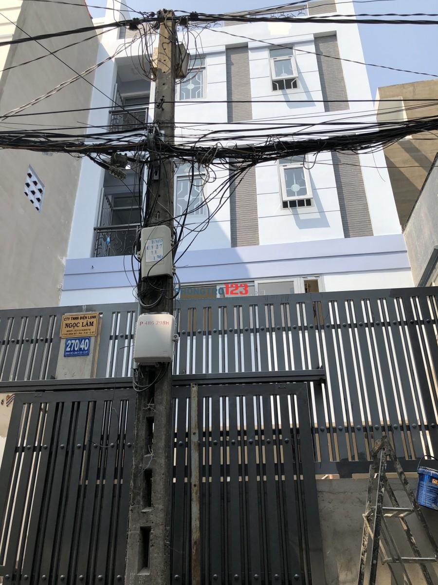 Phòng cho thuê đầy đủ nội thất tại Đường Đinh Bộ Lĩnh, Phường 26, Quận Bình Thạnh