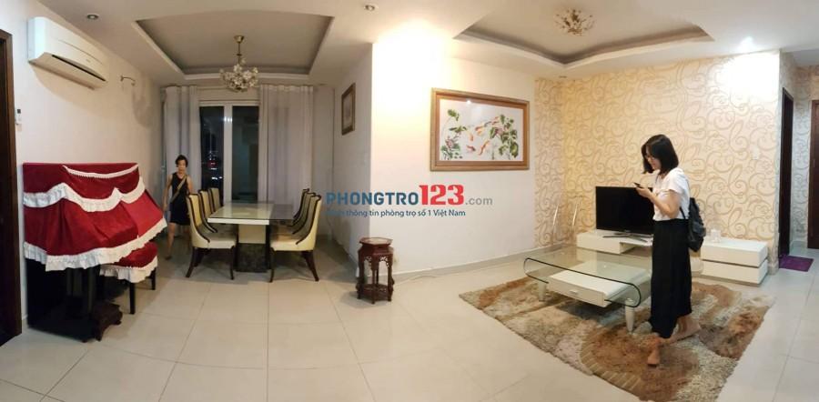 Cho thuê 2 phòng lẻ trong chung cư 3PN An Khang Quận 2, giá 5tr/phòng
