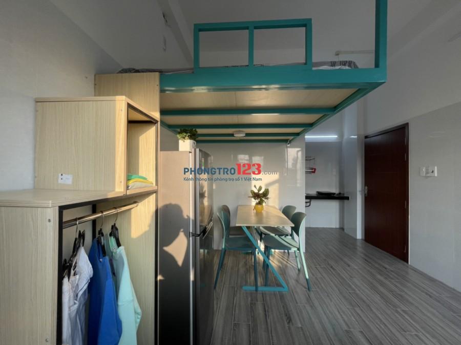 Căn hộ mới xây full nội thất ban công siêu rộng bàu cát p.12 tân bình