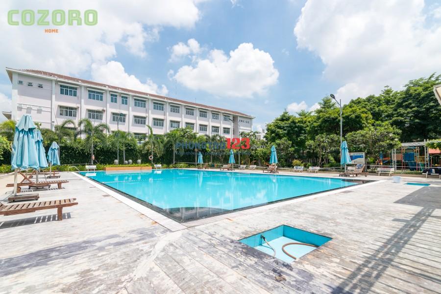 ở ghép KTX siêu cao cấp hồ bơi GYM Cozoro Dorm 2 1300k bao điện nước wifi
