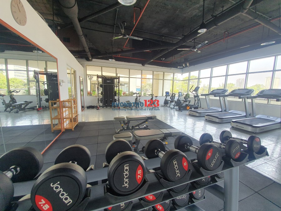 Ở ghép KTX siêu cao cấp FREE Gym Hùng Vương Plaza từ 1300k/tháng