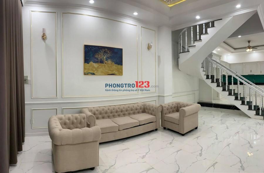 Cho thuê nhà biệt thự chính chủ tại Nguyễn Duy Trinh, ngay góc vòng xoay Phú Hữu cạnh cơm tấm Kiều Giang!