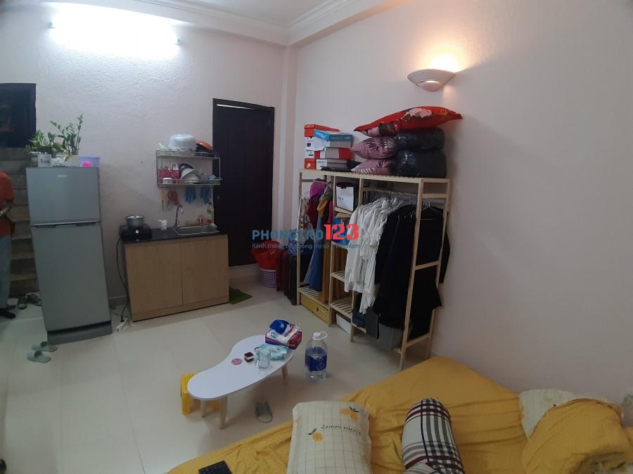 Cho thuê ở ghép căn hộ dịch vụ Hoàng Hoa Thám Bình Thạnh