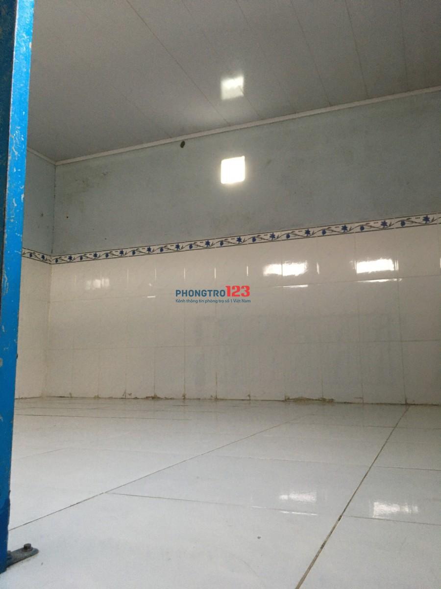 Phòng trọ 18m2 giá rẻ gần Coopmart Đặng Thúc Vịnh