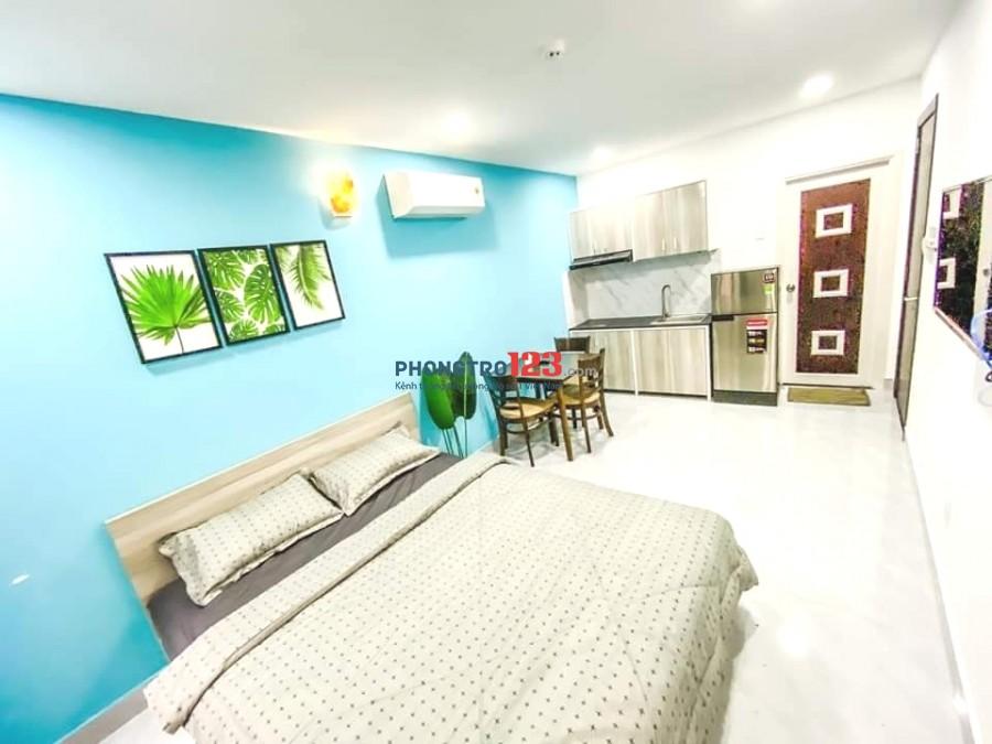 Phòng Lê Quang Định, 25m² ban công full Nội Thất, bảo vệ giá 4tr