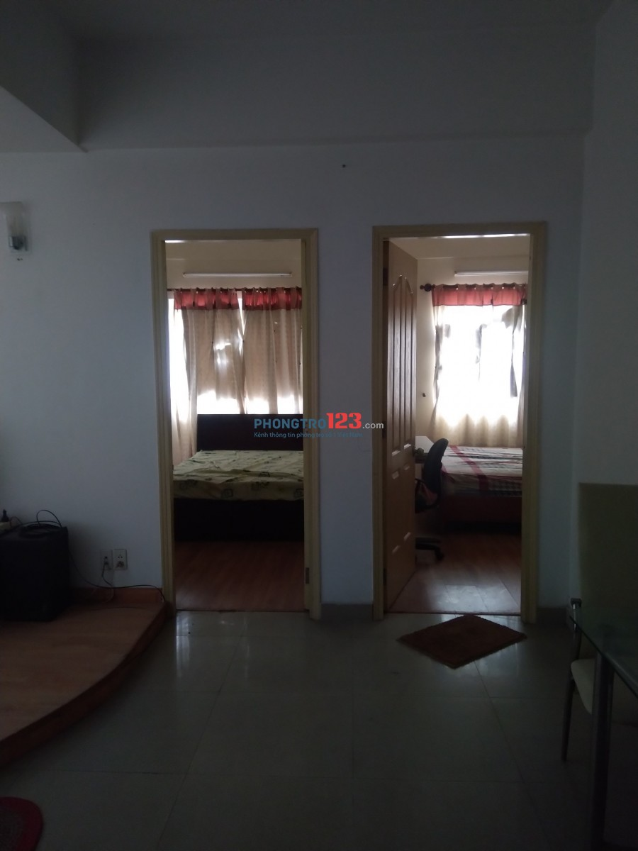 Cho thuê căn hộ chung cư tại quận 7.