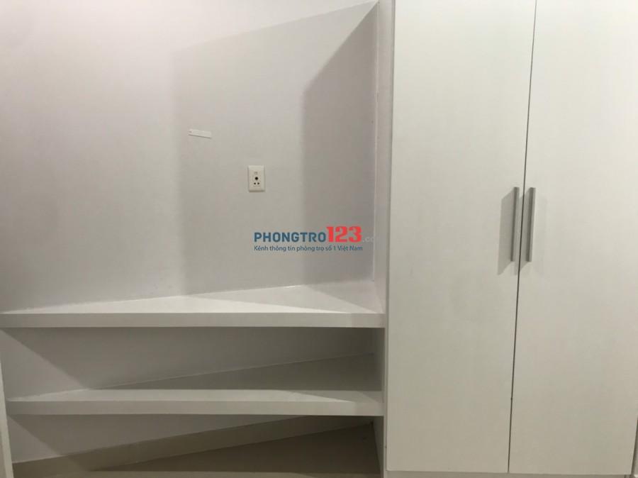 Cho thuê phòng mới xây 25m2 tại 243/12 Hoàng Diệu P4 Q4 giá từ 4tr/th
